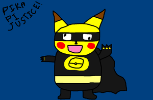 Pika Pi Justice by Paintenderp