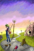 the big dream journey by Aless78