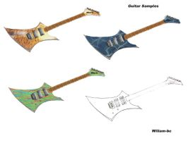 Custom Guitars by wiliam-bc