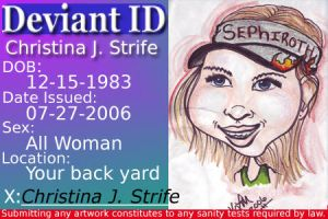 My ID by ChristinaJStrife