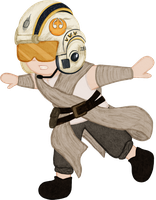 Little Rey by goldenConnpass