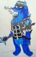Wheezy as the Ice Wizerd King by 932-2063