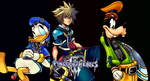Kingdom Hearts III: Sora, Donald and Goofy by Legend-tony980