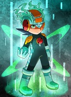 Rockman - Saito Style/Hub Style by KthTheArtist