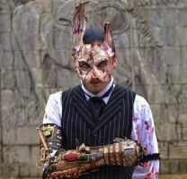 Bioshock rabbit splicer mask raffle! by Skinz-N-Hydez