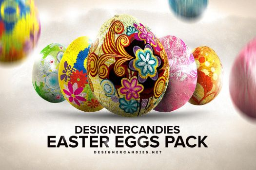 3D Easter Egg Pack by DesignerCandies