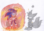 Sonic 3: Fire shield by adamis