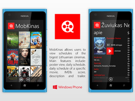 Windows Phone: MobKinas by irmantas-11