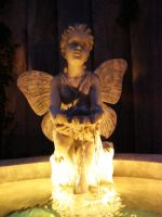 Angel fountain water stock 01 by epiphany-stock