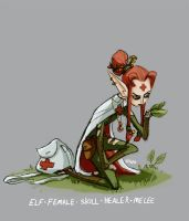 DH - elf herbalist by shoze