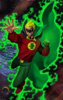 Alan Scott Green Lantern Color by statman71