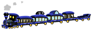 MLP Styled Train Commission by mlpdarksparx