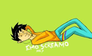 Emo Screamo by WillowWhiskers