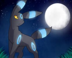 Shiny Umbreon by kairitheevee