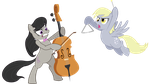 The Best Band Ever by DawnMistPony