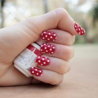 Gelish Polka-Dots by leopardspots
