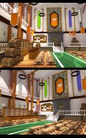 Interior of fairytail guild by sampung-piso