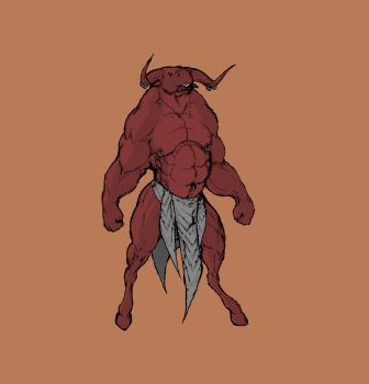 223 Minotaur color by krigg