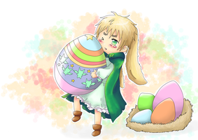APH: Happy Easter by ChibiSo