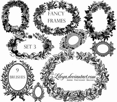 Fancy Frames set 3 by Lileya