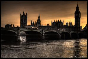 london - falling asleep by haq