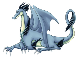 the water dragon by Michron