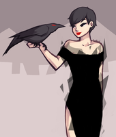 blackest dress by White-pine