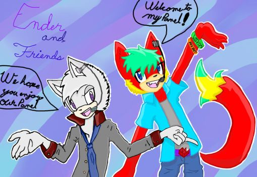 :Collab: Ender Mark and Friends Ft. Tristan Wolf by cutiepie131