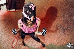 Lydia Fatale Lucha 2 by recipeforhaight