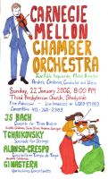 Chamber Concert Poster by mitya