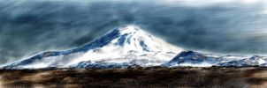 Mt. Hekla in Iceland by RoberLeSage