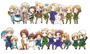 What the Hetalia characters think of you quiz by Darumemay