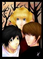 Death Note: Anywhere But Here by Mikagami-Naoko