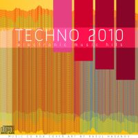 Music CD Box Cover Art-Techno by rasulh