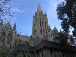 Truro Cathedral by captainflynn