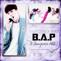 Photopack png B.A.P by ItsWarPowerEditions