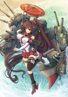 Kancolle - Yamato by moepielot