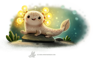 Daily Paint #1258. AMPhibian by Cryptid-Creations