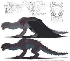 Day 122: Gore Magala Concept by Jadenyte