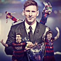 Lionel Messi-UEFA Best Player In Europe 2014/2015 by Leo10thebest