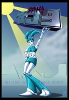 Jenny XJ9 colored by Bensaret