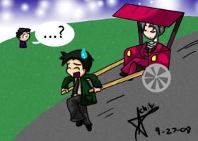The Gumshoe Mobile by Chibidoodles