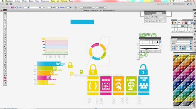 Designs - Interfaces Infographics by PipaRosa