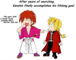 Kenshin Accomplishes His Goal by ChibiArt-Club