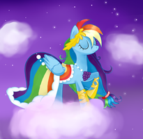 Rainbow dash by XxNikkiAngelxX