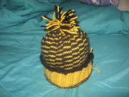 University of Idaho Knit Hat by ninjakitty94