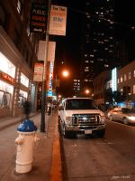 Mission Street by aroche