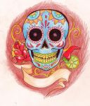 Happy Sugarskull by SweetNights