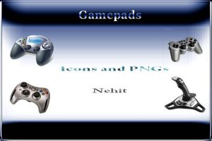 Gamepads Icons by nehit03