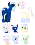 Nightsong and Candy Frost Foals (Closed ) by Arianstar